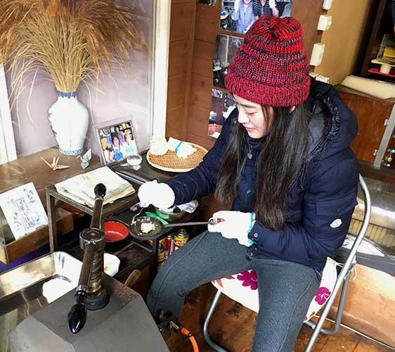 日式煎餅製作體驗