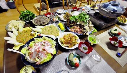 超美味的滿桌料理