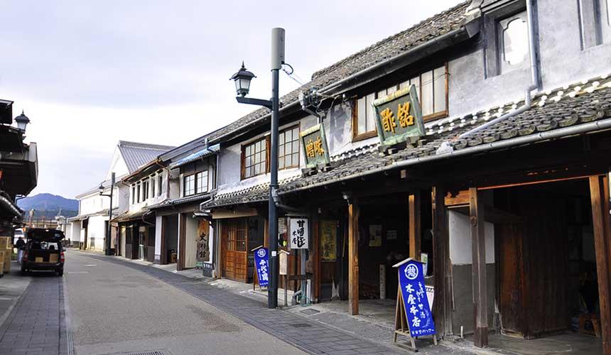 熊本市山鹿惣門懷舊老街