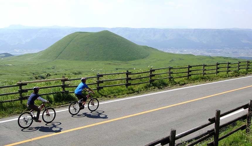 熊本阿蘇山單車腳踏車之旅