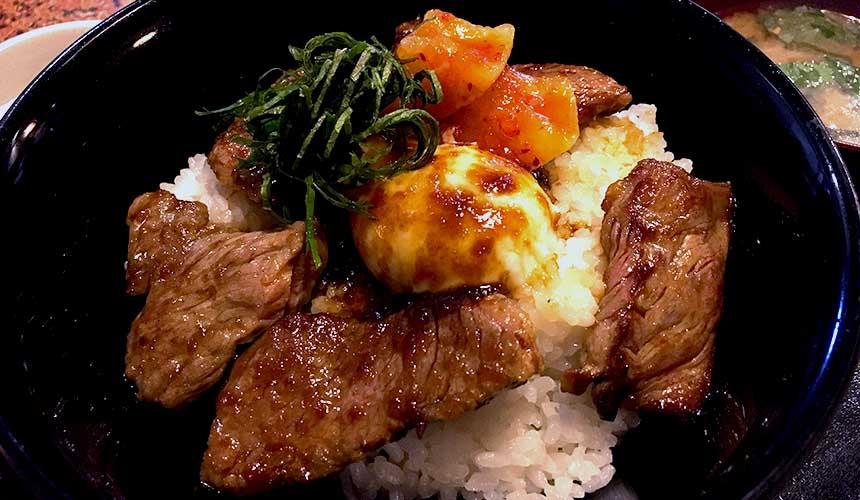 熊本阿蘇山赤毛和牛丼