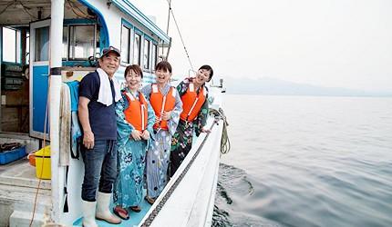 大神漁船出海