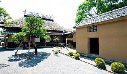 福澤諭吉故居與倉庫