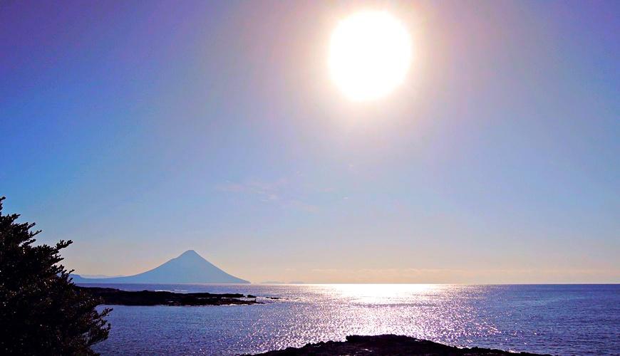日本鹿兒島被譽為日本絕景「番所鼻自然公園」