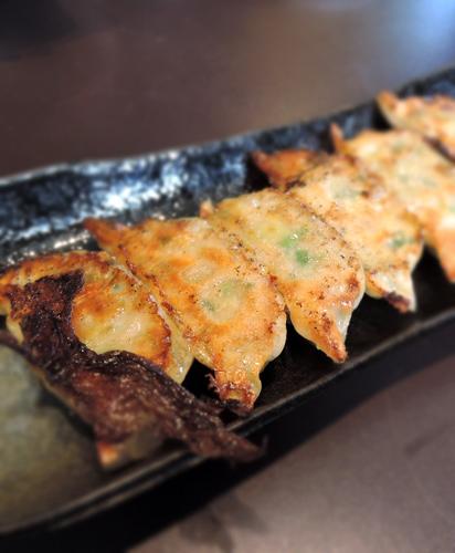 日本鹿兒島美食黑豚餃子