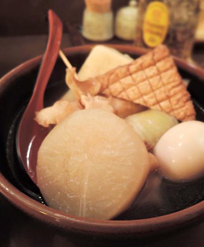 日本鹿兒島美食蘿蔔關東煮