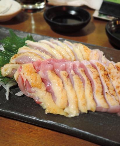 日本鹿兒島美食生雞肉