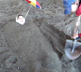 日本鹿兒島指宿砂蒸溫泉