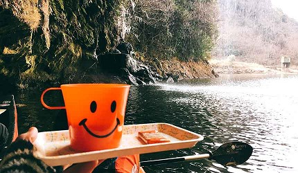 橡皮艇暢遊菊池溪