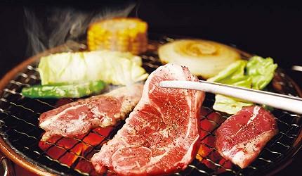 日本人氣燒肉店推薦「牛角」的燒肉圖片