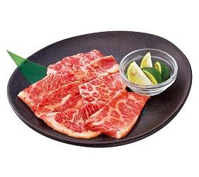 日本人氣燒肉店推薦「牛角」的牛五花圖片