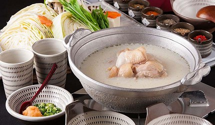 福冈博多美食推荐水炊き(鸡肉火锅)