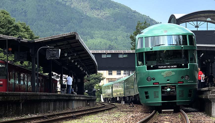JR九州观光列车「由布院之森」搭乘报告!品嚐米其林等级便当、畅游由布院超方便