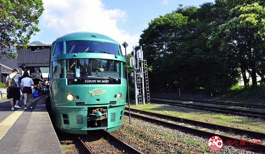 jr九州观光列车由布院之森外观