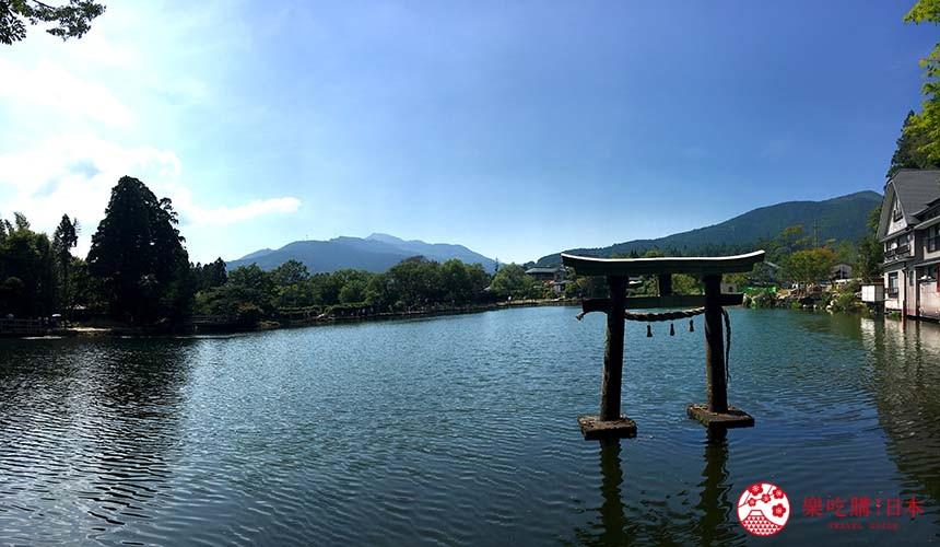 九州由布院必去景点金鳞湖