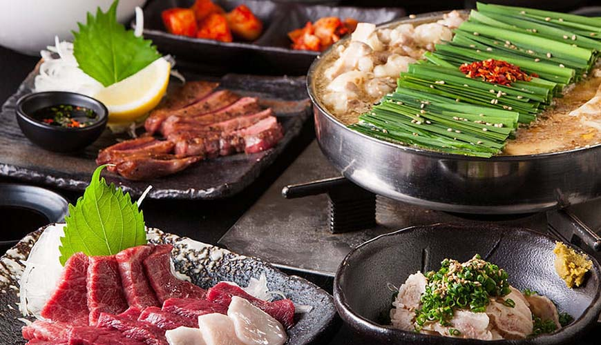 福岡必吃名物美食:九州博多逸品料理推薦「おおやま」國產牛內臟鍋!