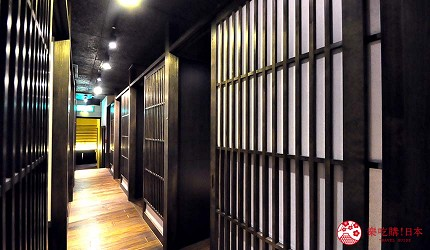 九州福岡必吃名物美食推薦「おおやま」的室內用餐環境