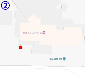 熊本縣北免費接駁巴士菊池格蘭大酒店站
