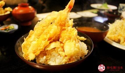 日本九州自由行別府溫泉自助旅行別府必吃美食天丼天婦羅とよ常