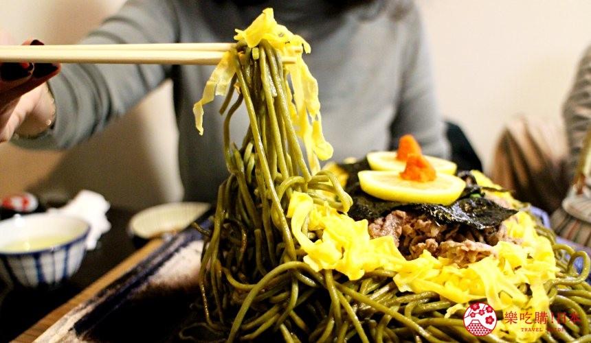 山口县北九州市日剧月薪娇妻里的瓦片荞麦面