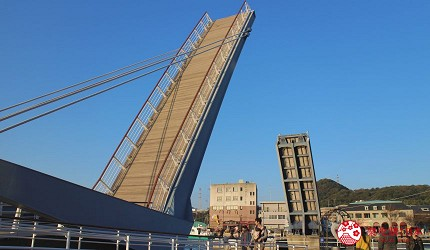 日本福岡「小倉」出發的門司港、下關市美食懷舊之旅!門司港懷舊地區的橋「Blue Wing門司」