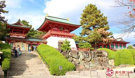 日本福岡「小倉」出發的門司港、下關市美食懷舊之旅的下關「赤間神宮」