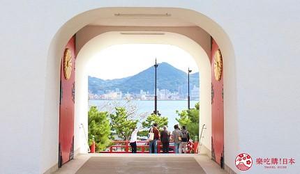 日本福岡「小倉」出發的門司港、下關市美食懷舊之旅的下關「赤間神宮」美景