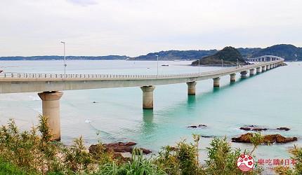 山口县下关市死前一定要去一次的世界绝景角岛大桥