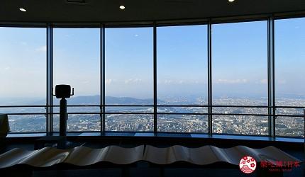 北九州皿倉山登山纜車展望台休息室