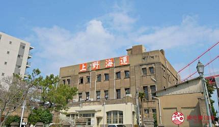 福岡景點北九州市復古的上野海運大樓
