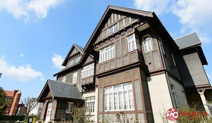 福岡北九州市景點門司港舊門司三井俱樂部