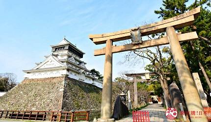 福岡北九州市景點小倉城八坂神社