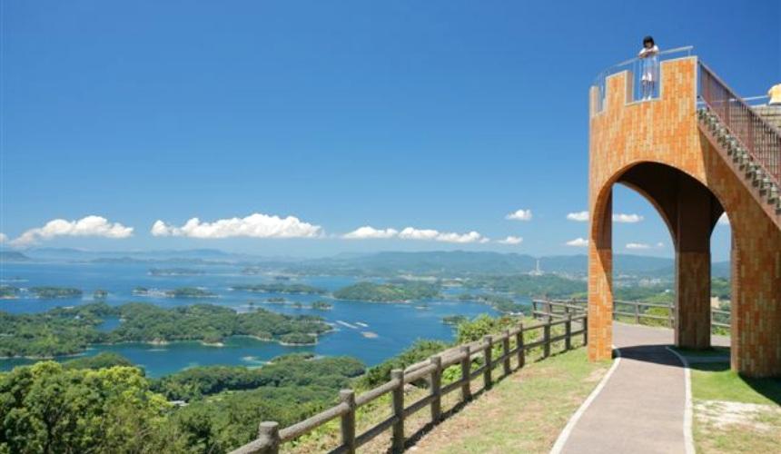 長崎佐世保景點九十九島展海峰
