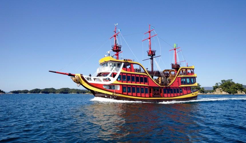 長崎佐世保九十九島觀光遊覽船