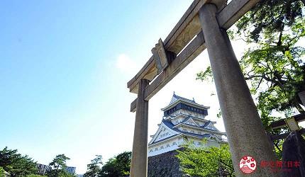 福冈北九州小仓景点小苍城