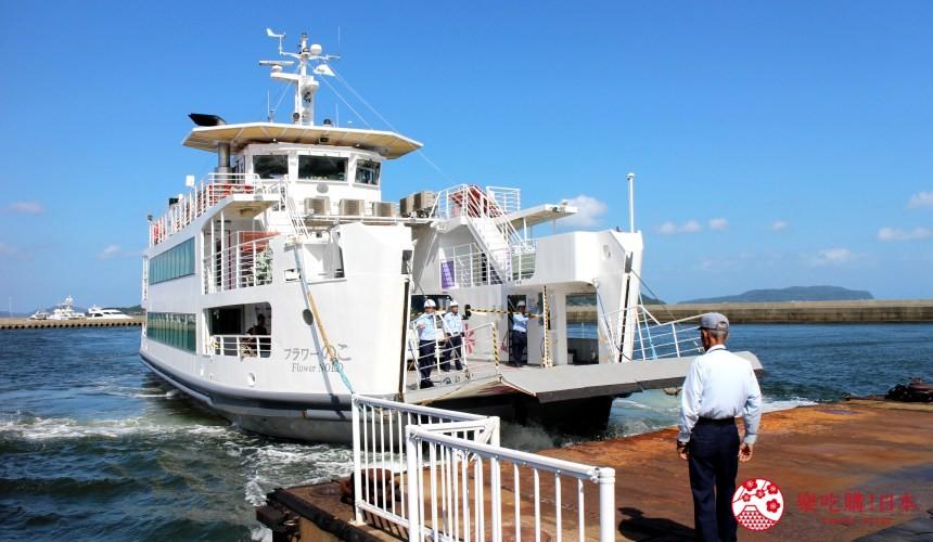 九州福冈自由行能古岛一日游半日游行程交通搭船能古岛海岛公园恋爱观音