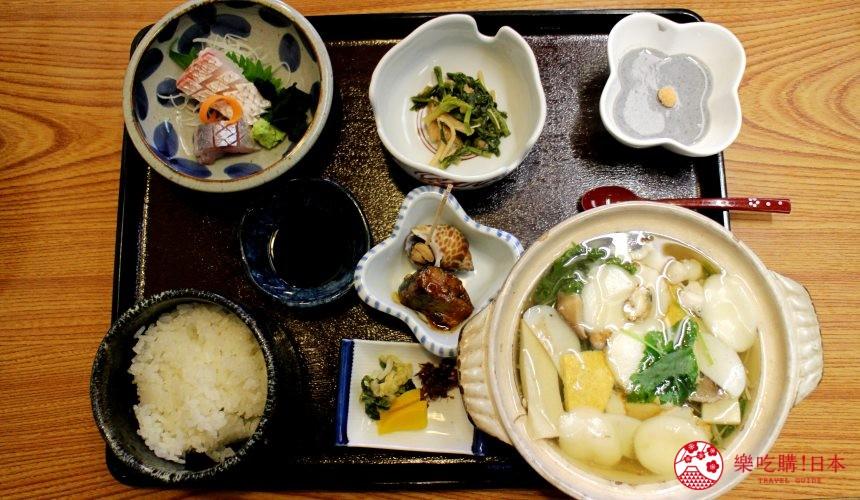 日本九州自由行推薦長崎島原、雲仙的道地料理具雜煮套餐