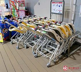 福岡自由行必逛OUTLET海購城奧特萊斯瑪麗諾亞城設施娃娃車嬰兒車租借