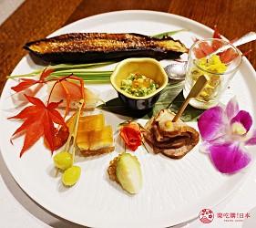 由布院溫泉旅館住宿推薦おやど二本の葦束晚餐前菜
