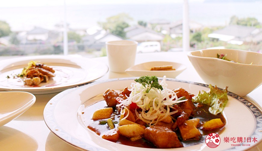 日本九州鹿兒島自由行行程安排看這篇!鹿兒島霧島市的黑醋餐廳「黑醋之鄉 桷志田」的料理