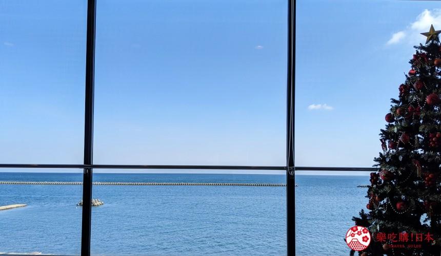 日本九州鹿兒島自由行行程安排看這篇!鹿兒島指宿市砂蒸溫泉會館「砂樂」的海景