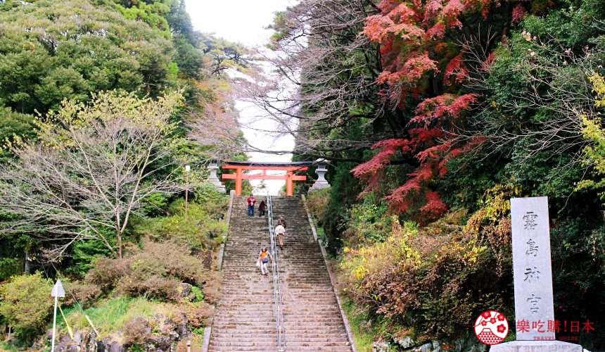 日本九州鹿兒島自由行行程安排看這篇!鹿兒島霧島市的霧島神宮鳥居