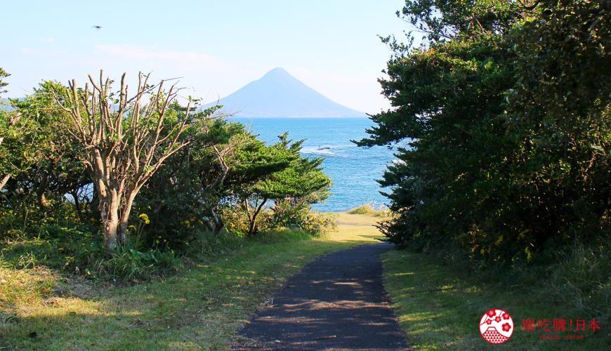 日本九州鹿兒島自由行行程安排看這篇!鹿兒島南九州市的番所鼻自然公園的薩摩富士景觀