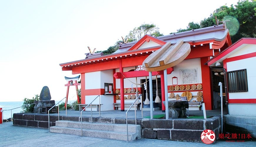 日本九州鹿兒島自由行行程安排看這篇!鹿兒島南九州市的釜蓋神社外觀