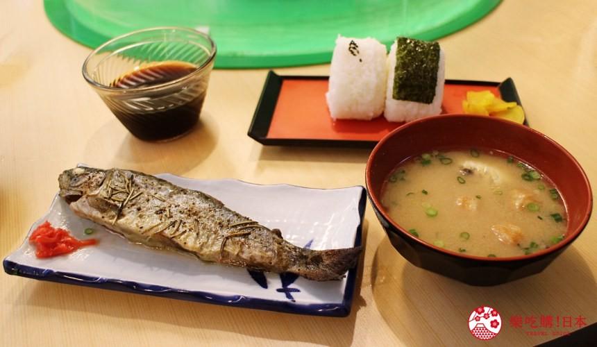 日本九州鹿兒島自由行行程安排看這篇!鹿兒島指宿市的香草烤鱒魚及飯糰