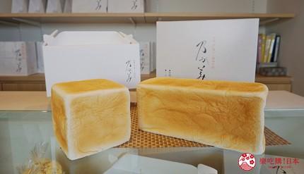 鹿兒島必吃金牌生吐司「乃が美」東開店販售的高級生吐司2斤與1斤