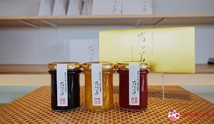 鹿兒島必吃金牌生吐司「乃が美」販售的果醬禮盒