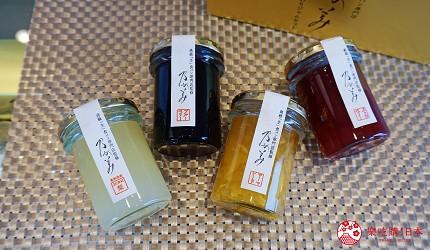 鹿兒島必吃金牌生吐司「乃が美」販售的果醬