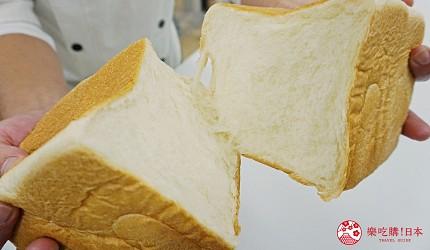 鹿兒島必吃金牌生吐司「乃が美」的吐司切面