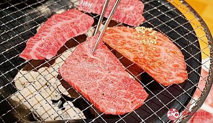 博多必吃燒肉店にく屋 肉いち國產黑毛和牛1CM超厚牛舌當地人推薦推介的排隊名店內提供的肉品在爐上被燒